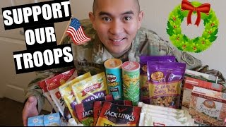HOW TO SEND A CARE PACKAGE TO A SOLDIER