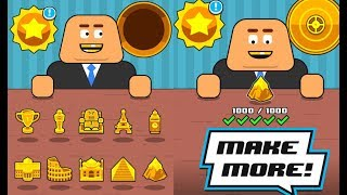 Make More - All trophy \ All robots \ Level 1000 \ GamePlay