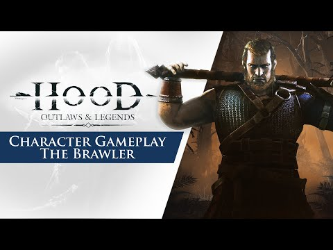 Character Gameplay Trailer - The Brawler de Hood: Outlaws & Legends