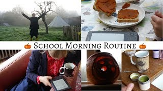 School Morning Routine    Productive & Autumnal