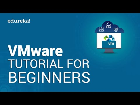 VMware Tutorial For Beginners | VMware Workstation | VMware Virtualization | Edureka