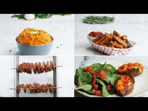 Video Sweet Potato 4 Ways