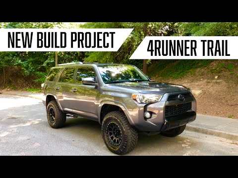 LIFTED 4RUNNER TRAIL - NEW BUILD PROJECT