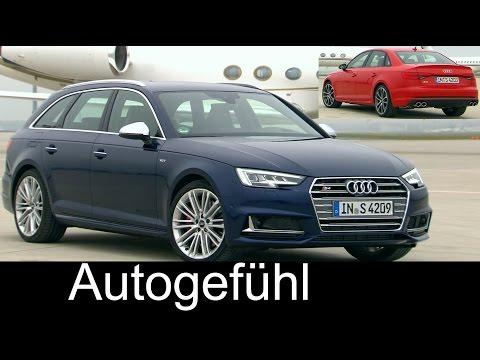 Audi S4 Limousine & Audi S4 Avant Sound/Exterior/Interior new neu