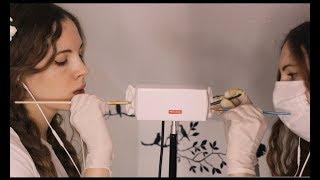 Twin ASMR Ear Cleaning