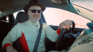 Adam Savage Demonstrates Blind Spot Detection Technology