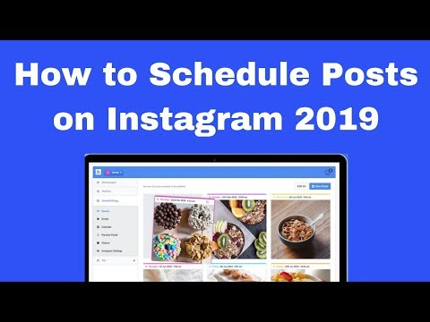 How to Schedule Posts on Instagram 2019