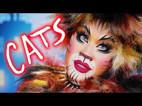 CATS BROADWAY MAKEUP TUTORIAL | PatrickStarrr