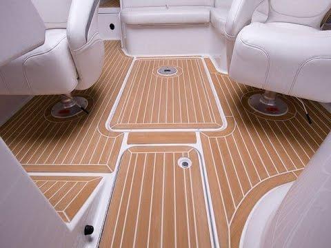 inexpensive faux teak marine boat decking