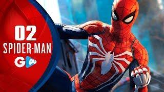 SPIDER-MAN PS4 -  #02 O NOVO traje do Homem Aranha e explorando o MUNDO ABERTO (PS4 PRO PT-BR)