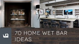 70 Home Wet Bar Ideas