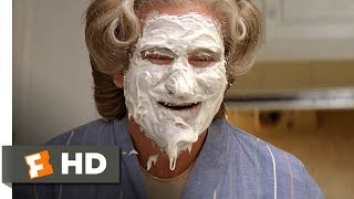 Mrs. Doubtfire (3/5) Movie CLIP - Mrs. Doubtfire's Cake Face (1993) HD