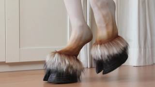 Walking with Faun Hooves | Hooved Shoes
