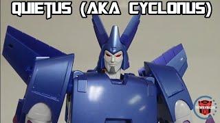 Fans Toys FT-29 Quietus Vs. X-Transbots Eligos (aka Cyclonus)