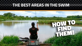 How to Find the Best Areas in the Swim - Feeder Fishing on Commercials
