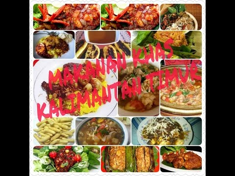 Video 7 makanan khas kalimantan timur yang lezat