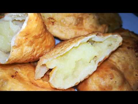 ПИРОЖКИ БЕЗ  ЗАМОРОЧЕК НА СКОВОРОДЕ. Пирожки с картошкой.