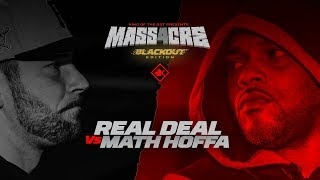KOTD - Real Deal Vs Math Hoffa | #MASS4