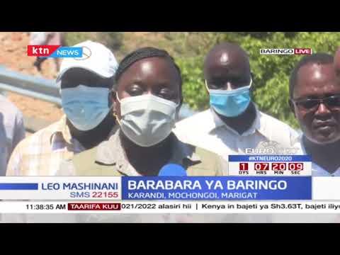 Ujenzi wa barabara kilomita 100 uliochini ya Seneta Gideon Moi unendelea Baringo