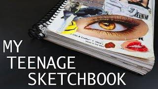 MY 17 YEAR OLD HIGHSCHOOL SKETCHBOOK (2010)