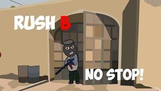 "CS:GO Cartoon. Rush ""B"" No stop"