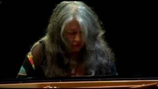 Martha Argerich - Bach Partita No. 2 - Verbier Festival 2008