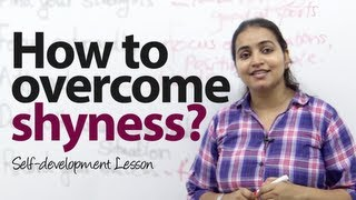 How to overcome shyness  with strangers? Public speaking & personality development video.