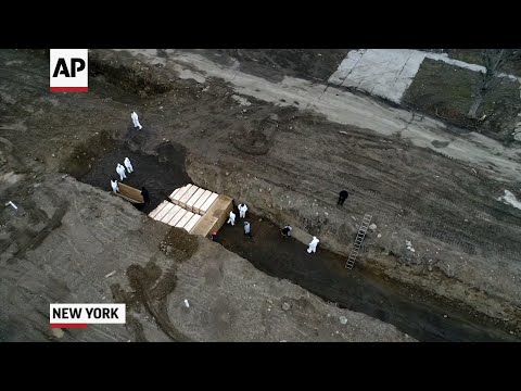 As morgues fill, NYC to bury some virus victims in potter's field