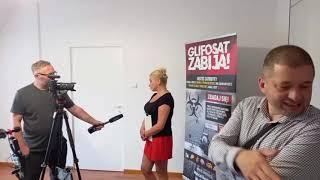 Team Bustowski z wizytą w SPZOZ w Bolkowie