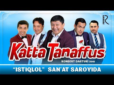 Katta tanaffus nomli konsert dasturi 2018 (Avaz Oxun, Nodirbek, Gulom, Abror, Zohid) (Olov Nur)