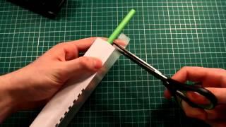 Make A Paper AK 47 Gun That Shoots 10 Rubber Bands