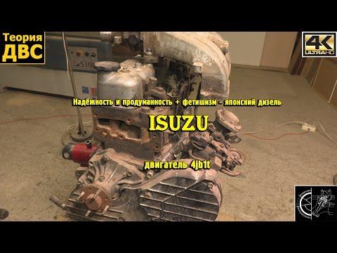 Фото к видео: Надёжность и продуманность - японский дизель Isuzu 4jb1t