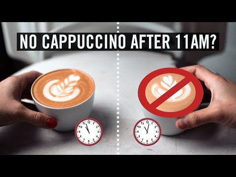 Here's Why Italians Never Drink Cappucino in the Evenings