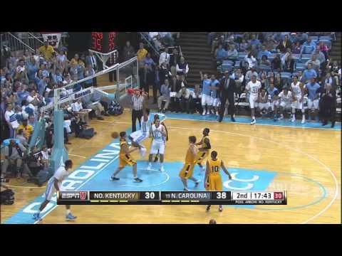 Video: North Carolina-Northern Kentucky Game Highlights