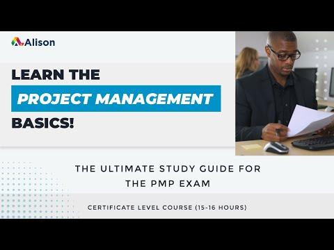 Project Management Professional PMP Exam Prep- Alison Free ...