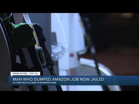 Man who dumped Amazon job now jailed