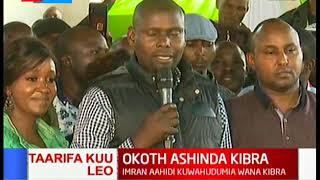 Imran ahidi kutekeleza majukumu yake ipasavyo baada ya kutangazwa mshindi katika uchaguzi wa Kibra