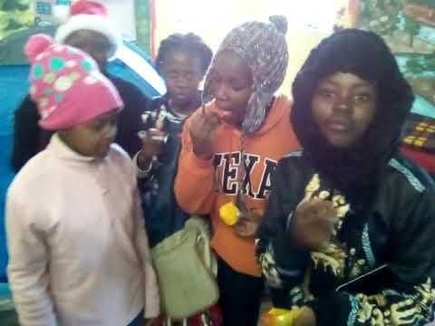 Kenyan ngao crew members at mt kenya old camp moses camping