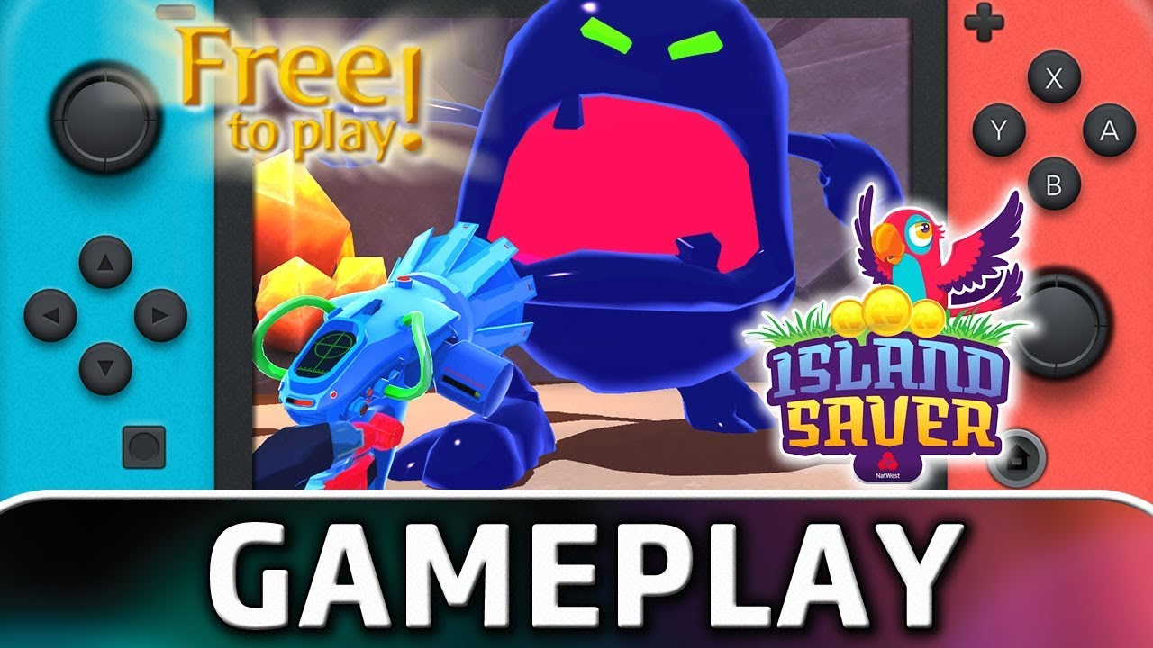 Island Saver | Nintendo Switch Gameplay (Free-to-play)