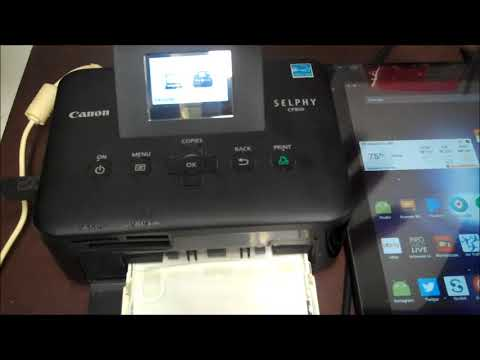 How Not to use Canon Selphy CP800 | Will Canon Selphy CP800 Work With Android Tablets