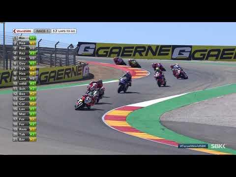 スーパーバイク世界選手権 SBK 第5戦トルエル(アラゴン)レース1ハイライト動画