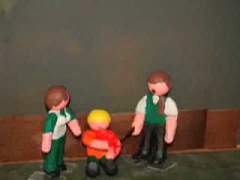 Resident Evil Claymation