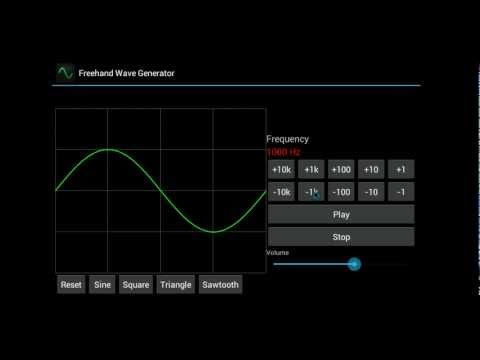 Video of Freehand Wave Generator