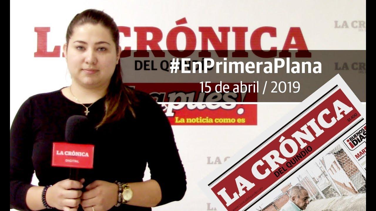 En Primera Plana: lo que será noticia este martes 16 de abril