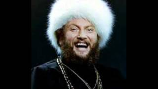 """Ivan Rebroff Sings Two Christmas Songs: """"Silent Night"""" and """"O Tannenbaum."""" [Russian]"""