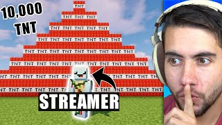 I Joined a YouTubers Livestream Just To Ruin It - Minecraft