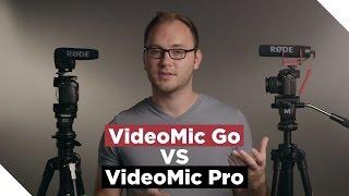 RODE VideoMic Go VS VideoMic Pro