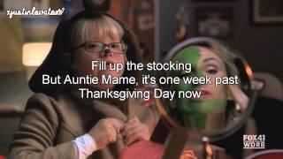 We Need A Little Christmas - Glee