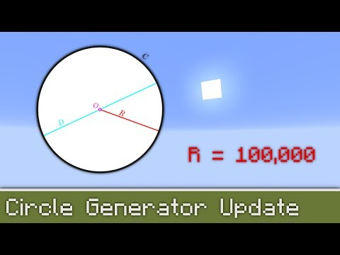 Circle Generator 112 Functions Minecraft Project