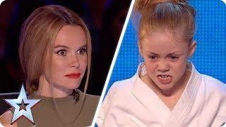 Tiny Karate Kid SHOCKS the Judges! | Britain's Got Talent Unforgettable Audition - Video Youtube